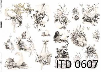 Papier decoupage ITD D0607