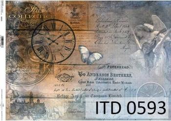 Papier decoupage ITD D0593