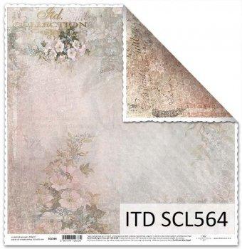 Papier scrapbooking SCL564