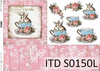 Papier decoupage SOFT ITD S0150L