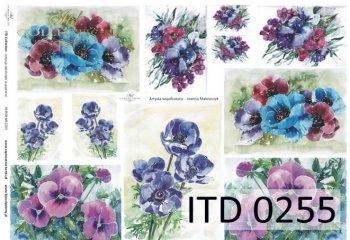 Papier decoupage ITD D0255M