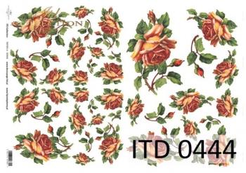 Papier decoupage ITD D0444M