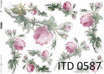 Papier decoupage ITD D0587