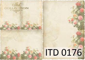 Papier decoupage ITD D0176