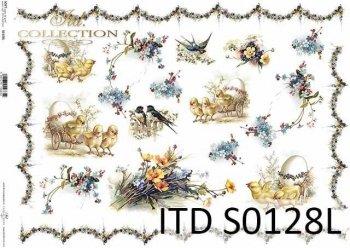 Papier decoupage SOFT ITD S0128L