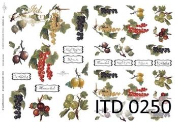 Papier decoupage ITD D0250