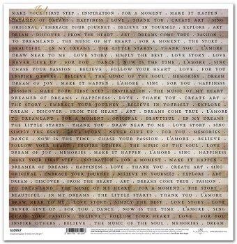 Papier scrapbooking SL0957