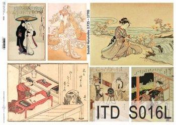 Papier decoupage SOFT ITD S0016L