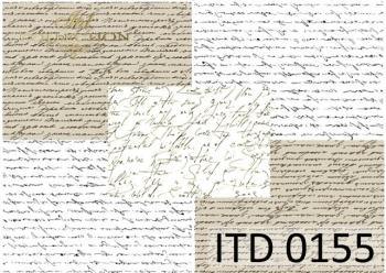 Papier decoupage ITD D0155