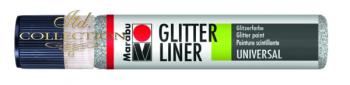 Liner Glitter 25 ml - Silver 582