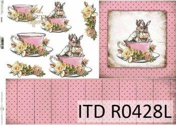 Papier ryżowy ITD R0428L
