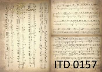 Papier decoupage ITD D0157