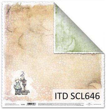 Papier scrapbooking SCL646