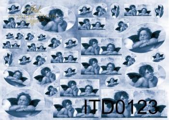 Papier decoupage ITD D0123