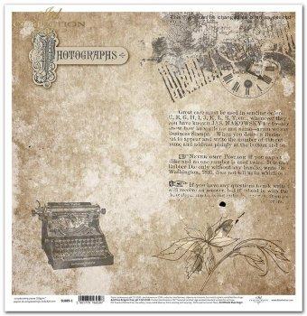 Papier scrapbooking SL0889