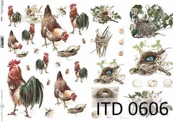 Papier decoupage ITD D0606