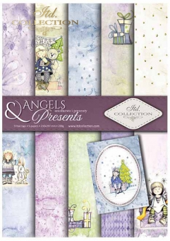 .Papier do scrapbookingu SCRAP-022 ''Angels & Presents