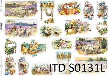 Papier decoupage SOFT ITD S0131L