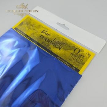 Folia metaliczna Termoton * niebieska
