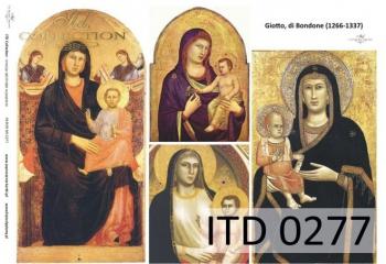 Papier decoupage ITD D0277
