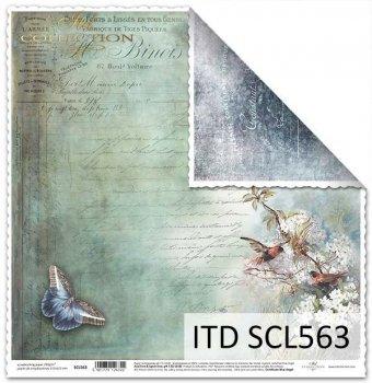 Papier scrapbooking SCL563