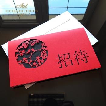 Zaproszenie biznesowe ZB1035 z kopertą