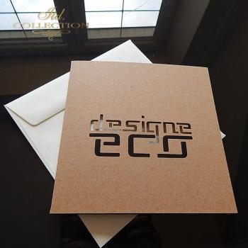 Zaproszenie biznesowe ZB1032 z kopertą