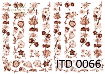 Papier decoupage ITD D0066