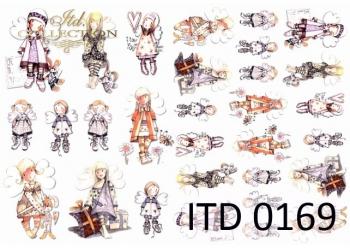 Papier decoupage ITD D0169M