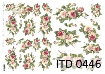 Papier decoupage ITD D0446