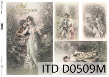 Papier decoupage ITD D0509M