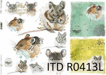Papier ryżowy ITD R0413L