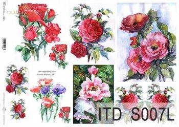 Papier decoupage SOFT ITD S0007L