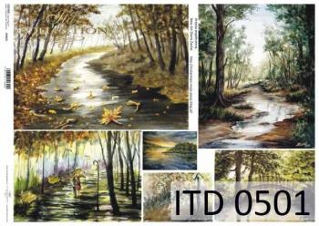 Papier decoupage ITD D0501