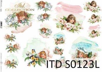 Papier decoupage SOFT ITD S0123L