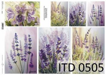 Papier decoupage ITD D0505