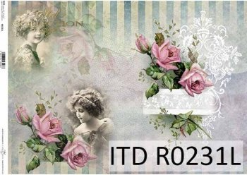 Papier ryżowy ITD R0231L