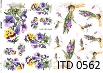 Papier decoupage ITD D0562