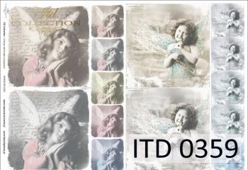 Papier decoupage ITD D0359