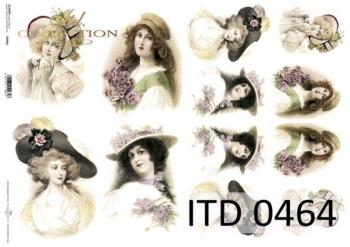 Papier decoupage ITD D0464M