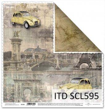 Papier scrapbooking SCL595
