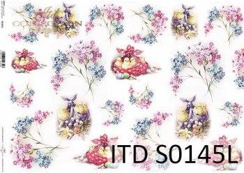 Papier decoupage SOFT ITD S0145L