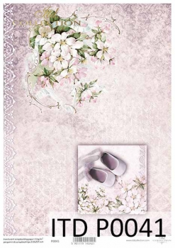 Pergamin do scrapbookingu P0041