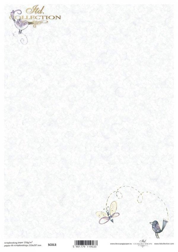 бумага для скрапбукинга SC0013