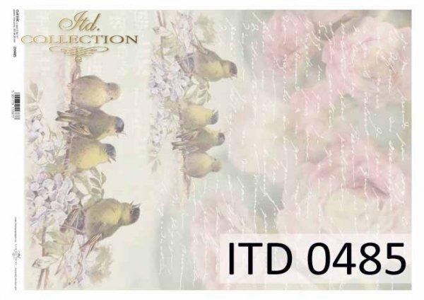 бумага для декупажа классическая D0485