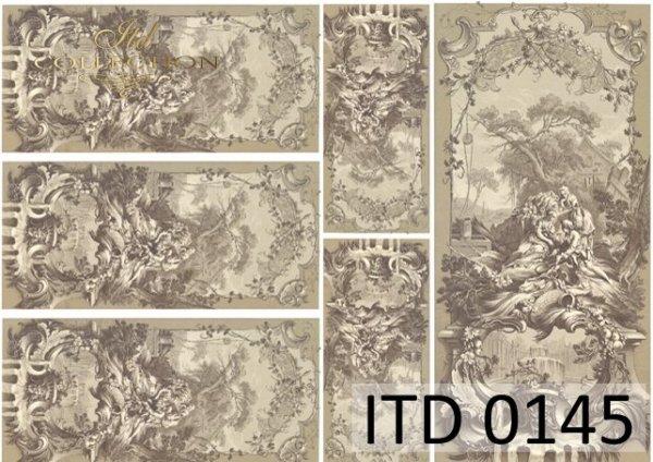 бумага для декупажа классическая D0145
