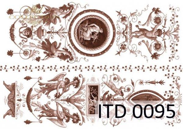бумага для декупажа классическая D0095