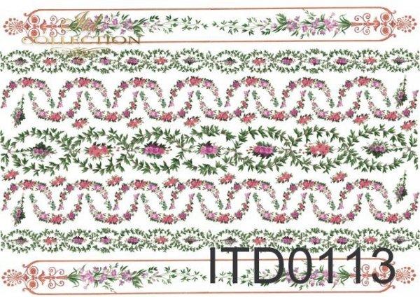 бумага для декупажа классическая D0113