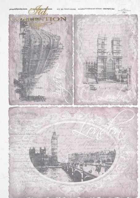 рисовая бумага для декупажа R0214