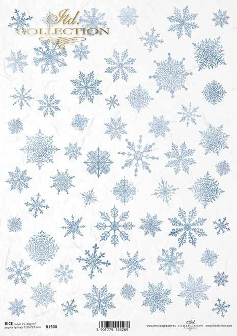 copos de nieve*Schneeflocken, Schneeflocken*снежинки, снежинки